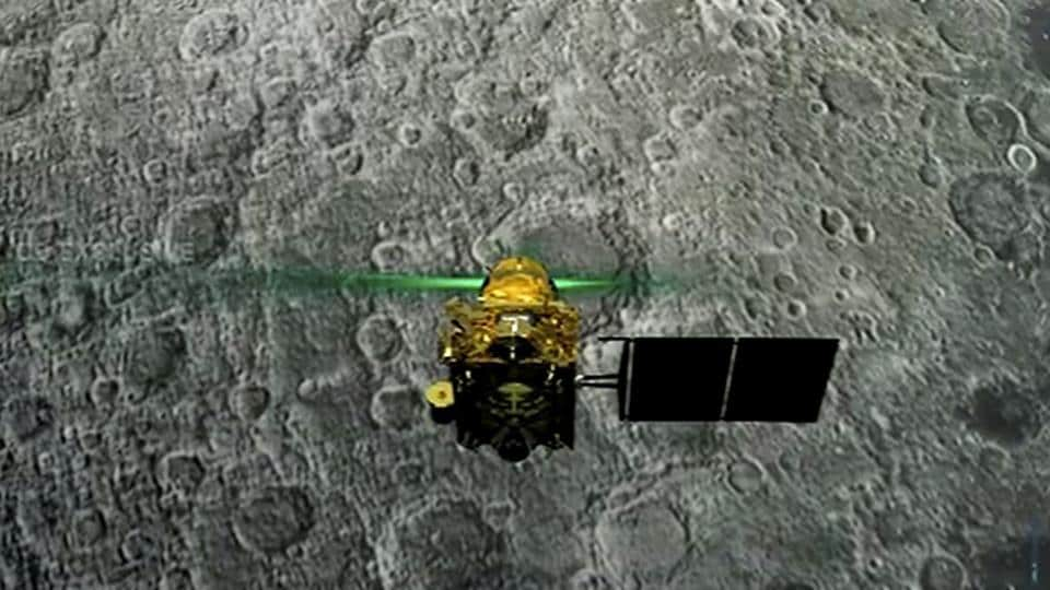 Live telecast of soft landing of Vikram module of Chandrayaan 2 on lunar surface, in Bengaluru on Saturday. As declared by ISRO Chairman Kailasavadivoo Sivan, the connection with Vikram lander was lost and resumption of communications is awaited.