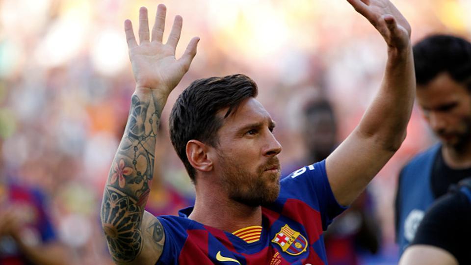 File image of Lionel Messi.