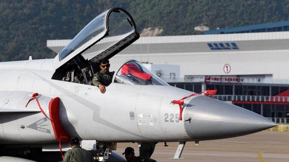 Pakistan Air Force used JF-17 Thunder fighter aircrafts apart from Mirage jets in the combat-level joint exercise with China
