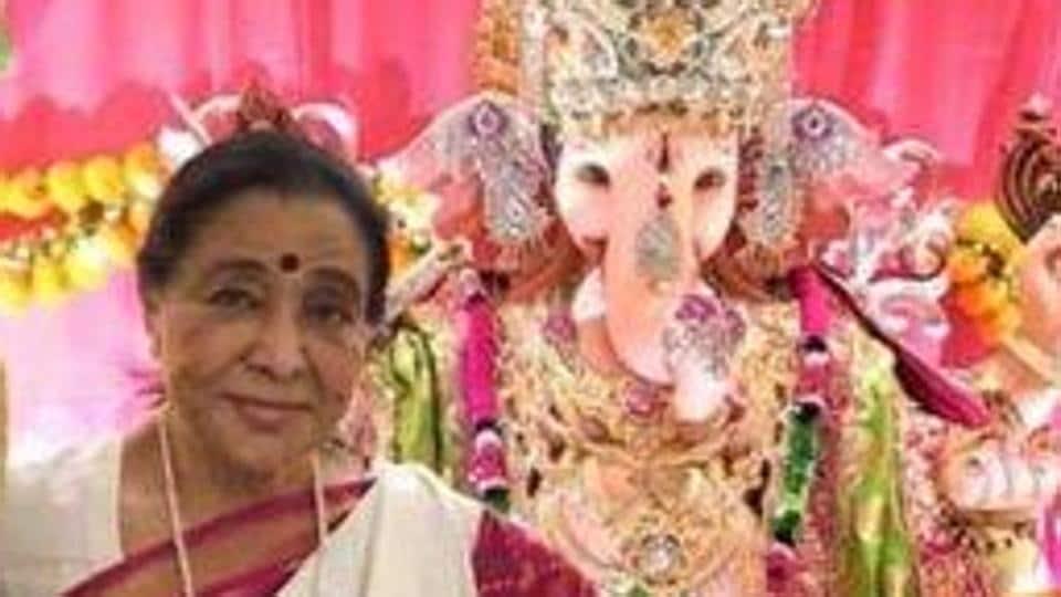 Asha Bhosle turned 86 on Sunday.
