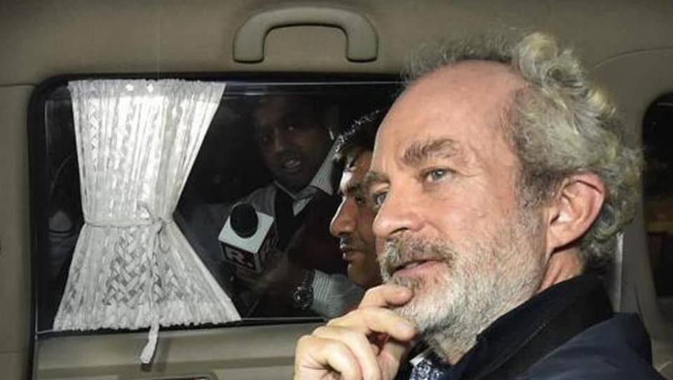 Michel is among the three alleged middlemen being probed in the case by the ED and the CBI. The other two are Guido Haschke and Carlo Gerosa.