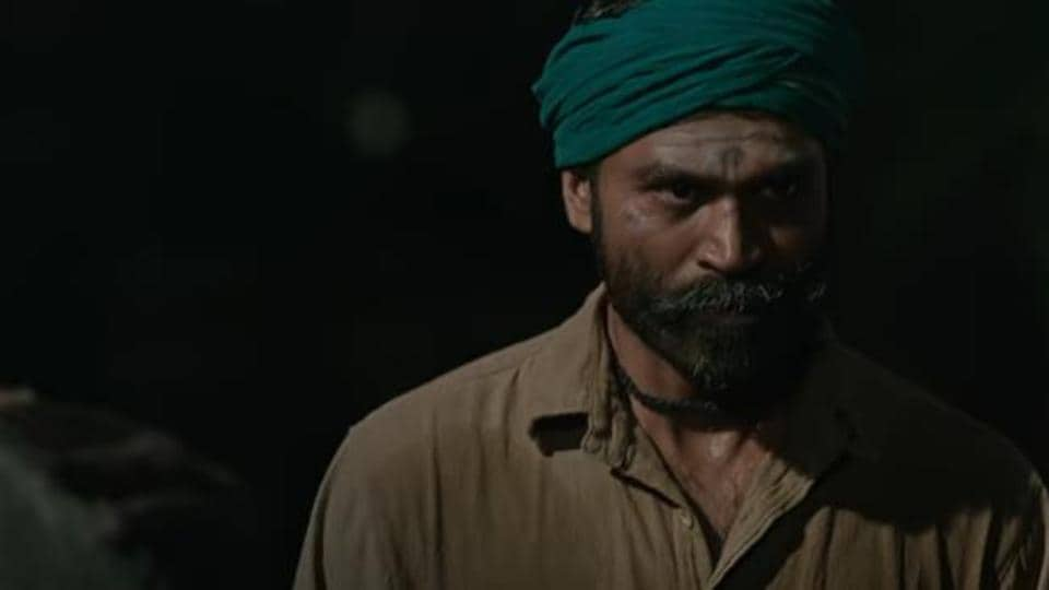 aAsuran trailer: Dhanush plays a daily wage labourer in the film.