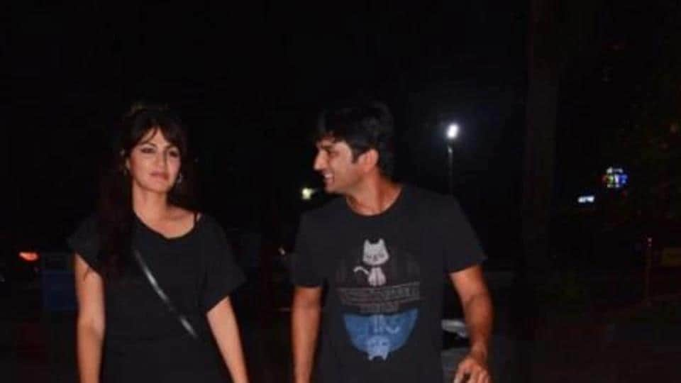 Sushant Singh Rajput is often spotted at dinner and lunch outings with Rhea Chakraborty.
