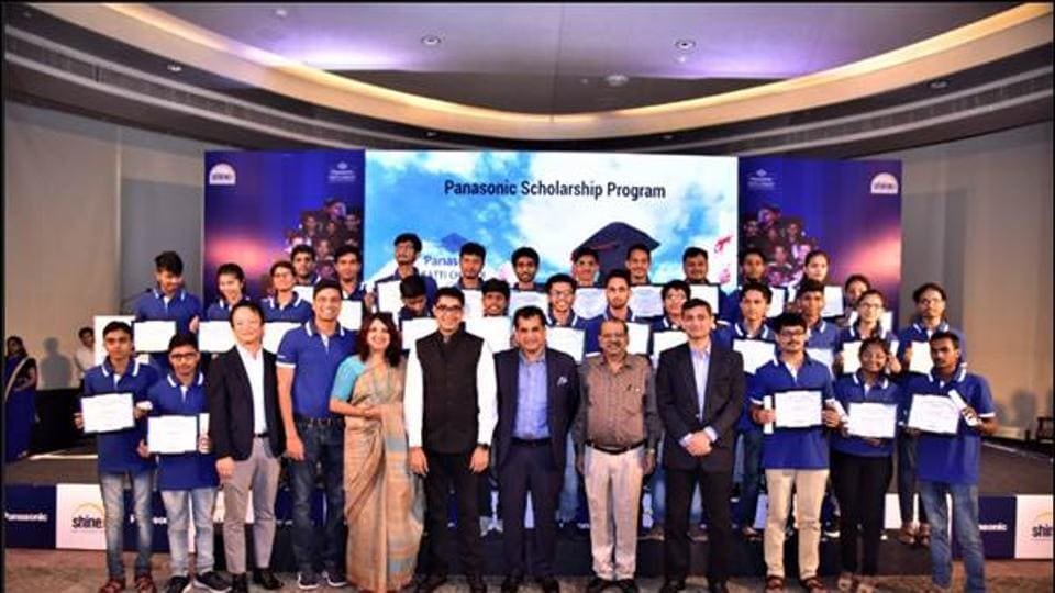 Panasonic India on Saturday offered scholarships to 30 students from 19 IITs under its Ratti Chhatr programme.