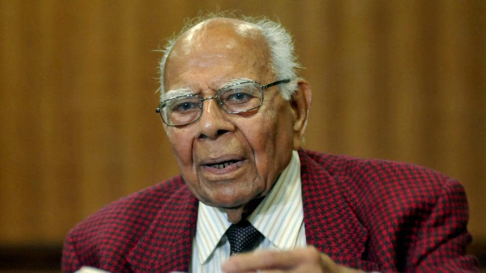 Ram Jethmalani, one of India's most well-known lawyers, died on Sunday morning.