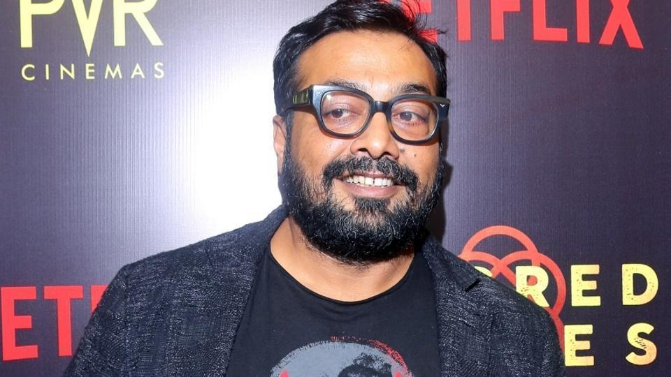 Anurag Kashyap at the premiere of Netflix's Sacred Games.