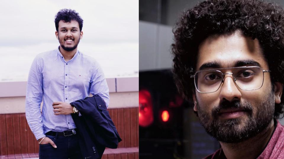 Venteskraft was co-founded by Rahul Rajeev Kakkookkal (right) and Sheeja Mahin Balachandran (left) in 2017