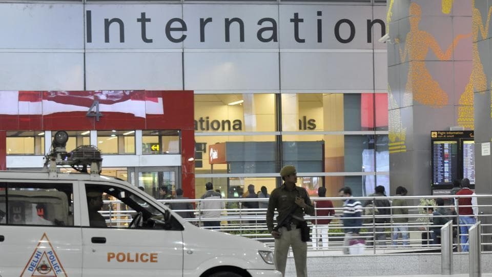 Central Industrial Security Force (CISF) on Saturday caught a man who had allegedly edited his flight ticket to gain entry into the Delhi airport's Terminal-3 (T-3) to see off his mother travelling to Srinagar.