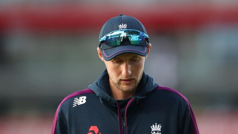 England's Joe Root looks dejected after Australia win the match and retain the Ashes