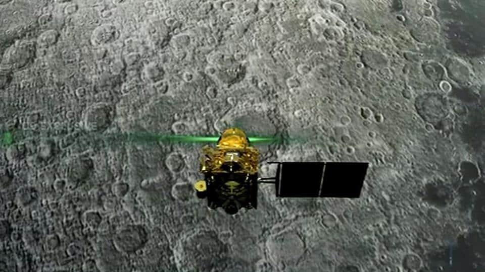 Bengaluru: Live telecast of soft landing of Vikram module of Chandrayaan 2 on lunar surface, in Bengaluru, Saturday, Sept. 7, 2019.