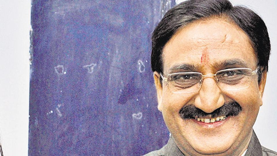 "Union HRD Minister  Ramesh Pokhriyal  Nishank  dismissed India's economic slowdown as ""little ups and downs""/"