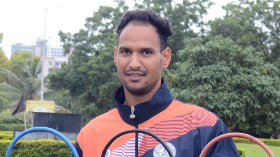 Chandan Singh bags gold and set a new services record of 1 hour 24 minutes and 48.47 seconds in the 20kms race walk event at the 69th Inter-Services Athletics Championship 2019-20, at the Army Sports Institute (ASI), Pune, on Sunday.