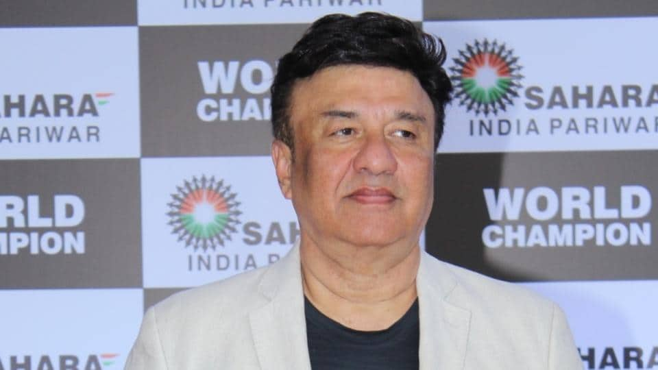 Anu Malik at PV Sindhu's felicitation ceremony organised by Sahara Group in Mumbai.
