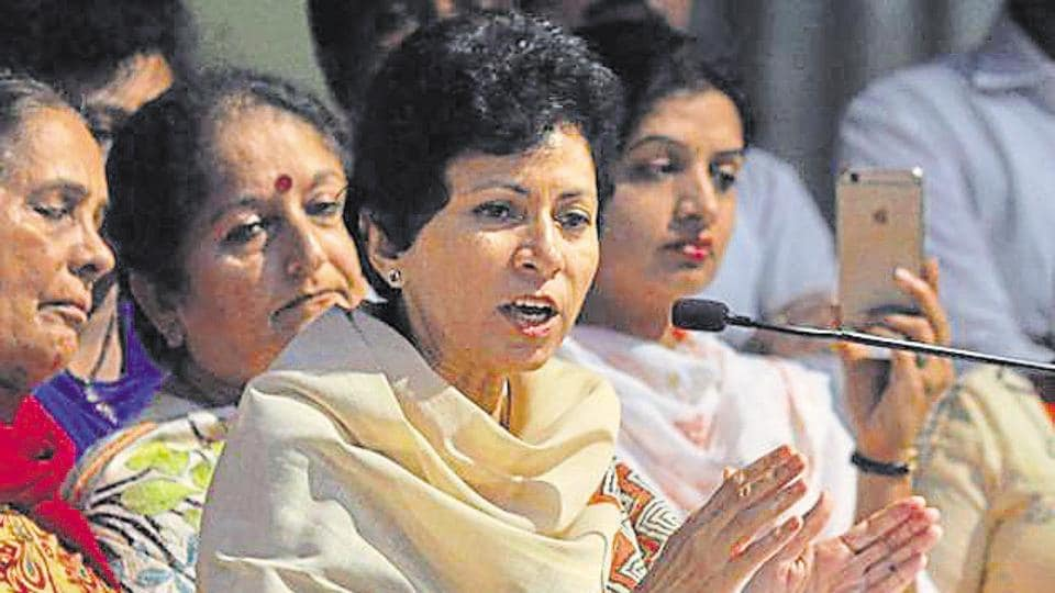 Haryana's new Congress chief Kumari Selja has a tall order to rejuvenate a faction-ridden party ahead of the assembly elections in the state.