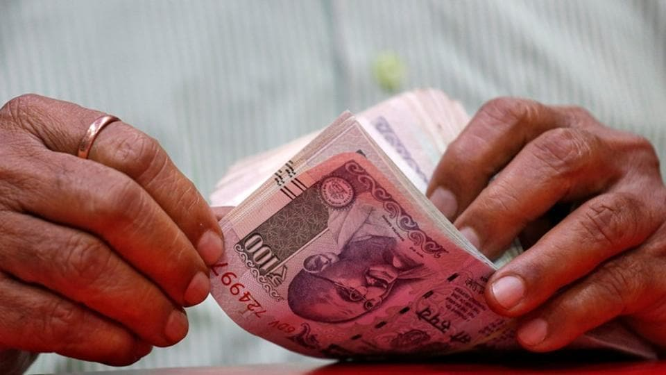 Rupee had settled at 71.72 against the US dollar on Friday.