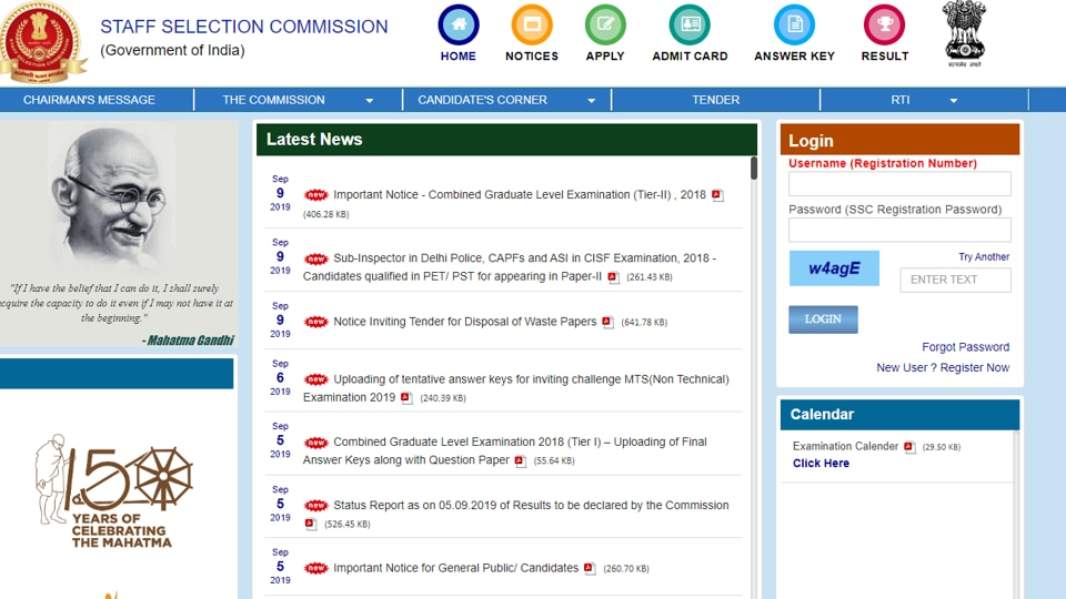 SSCSI,ASIresult for CISF,CAPF result out