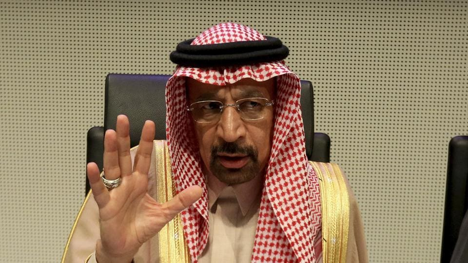 Crude prices gained as the new Saudi oil minister signaled he would defend oil prices.