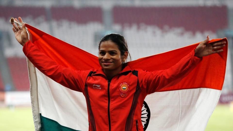 Indian sprinter Duttee Chand