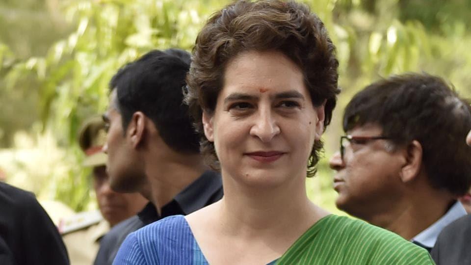 Congress general secretary Priyanka Gandhi.