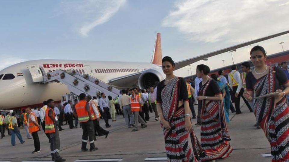 Congress MLA Vinod Chandrakar is accused of humiliating a female staff of Air India at Raipur airport.