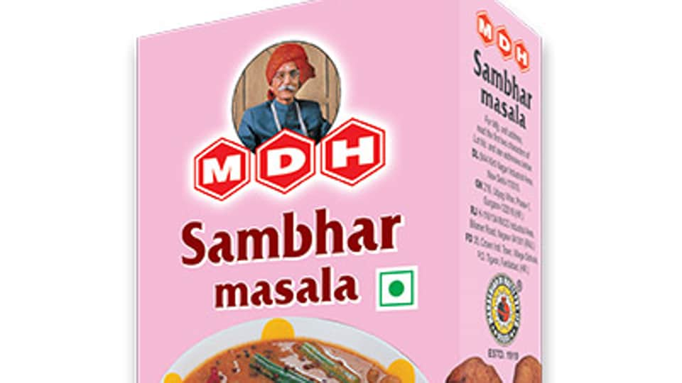 The recalled MDH sambar masala was distributed in northern California retail stores, House Of Spices (India) said in a statement.