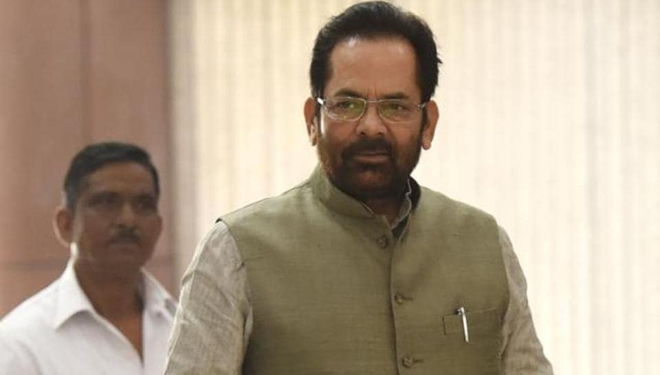 Minority affairs minister , Mukhtar Abbas Naqvi believes abrogation of Article 370 was necessary.