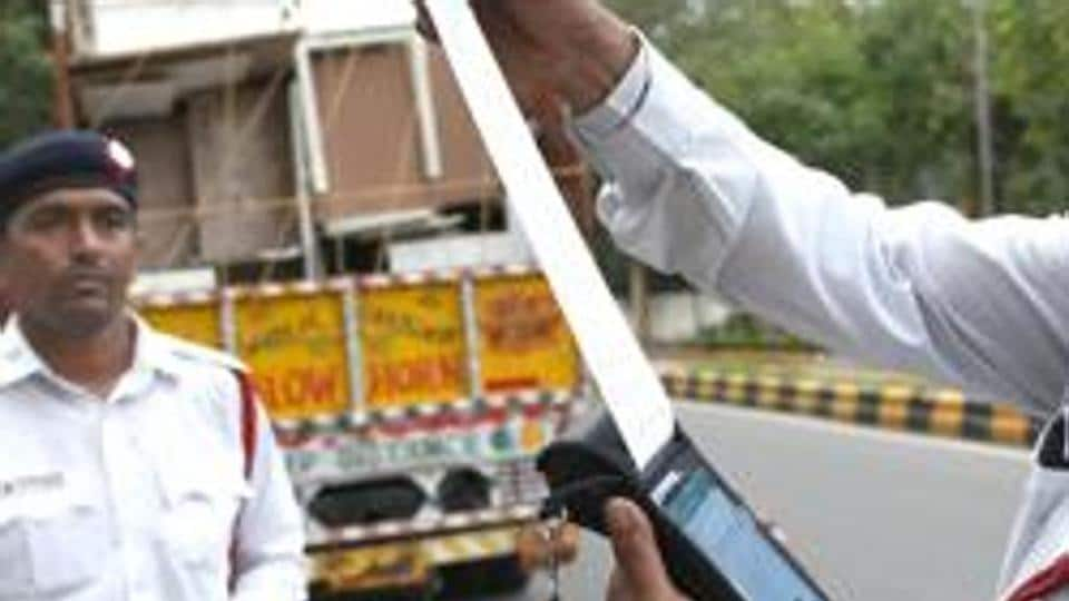 Bikaner's Harman Ram Bhambhu, owner of a truck (No. RJ07GD0237), was fined for overloading and violation of registration certificate and permit rules.
