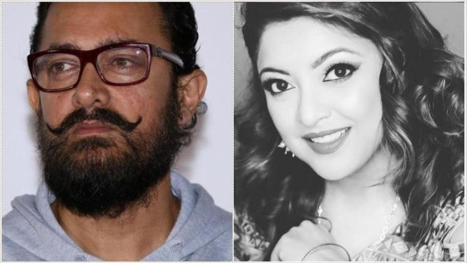 Tanushree Dutta is disappointed with Aamir Khan's decision to come back on board Mogul.