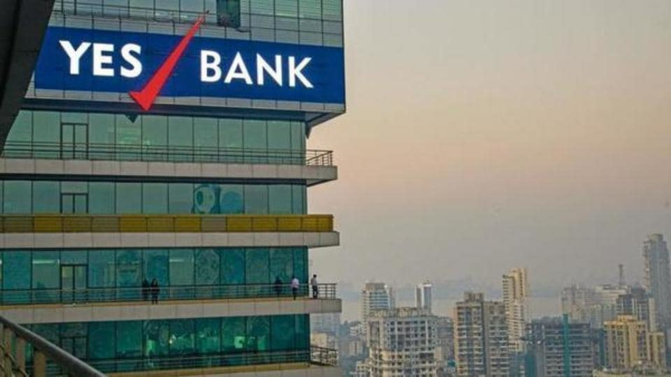 The Yes Bank stock has been falling steadily since RBI indicated in August 2018 that Rana Kapoor's term as the bank's CEO would not be renewed after January 2019.