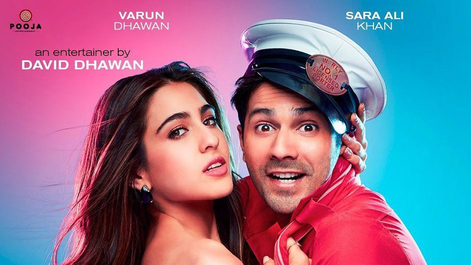 Sara Ali Khan and Varun Dhawan will be seen together for the first time in Coolie No.1.