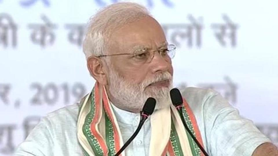 Prime Minister Narendra Modi hit out at Pakistan while addressing a public meeting in Mathura, Uttar Pradesh