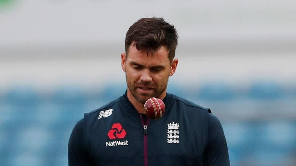 England fast bowler James Anderson