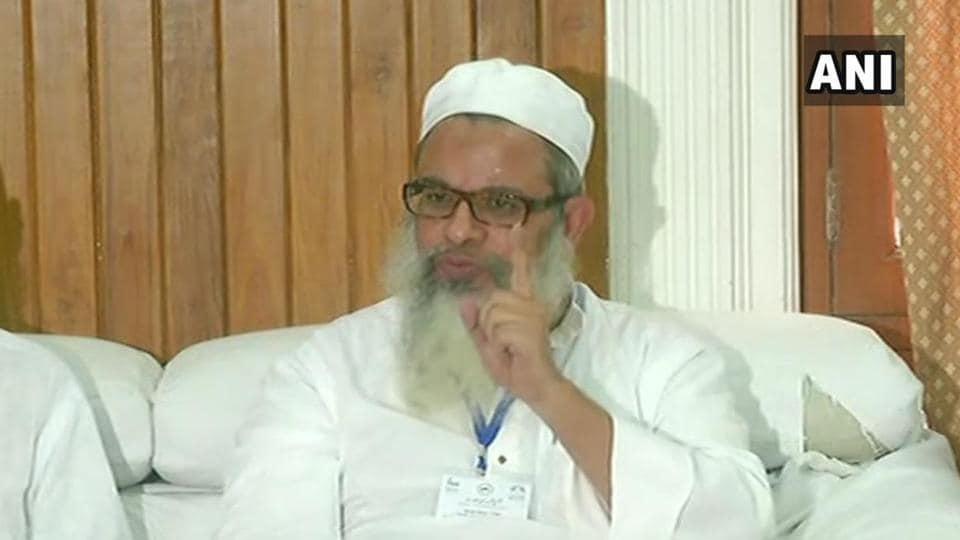 General Secretary of Jamiat Ulema-e-Hind, Mahmood Madani.