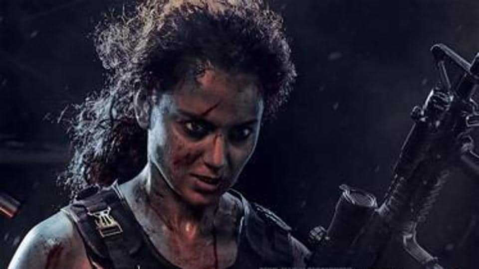 Kangana Ranaut looks fierce as the lead in Dhaakad, an action film led by a  female protagonist.