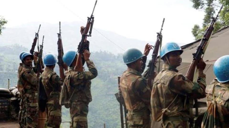 Le Congo a le plus grand déploiement de l'armée indienne sur le sol étranger. La brigade indienne a son siège à Goma, capitale de la province du Nord-Kivu.
