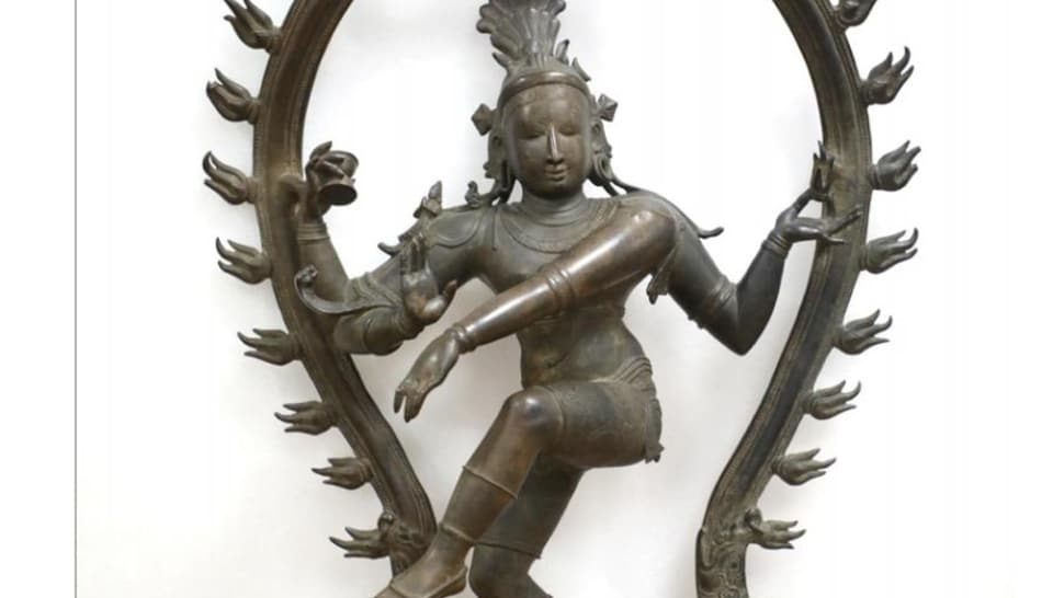 The two and half feet tall Nataraja statue, weighing 100 kg, would be installed at the temple for public worship.