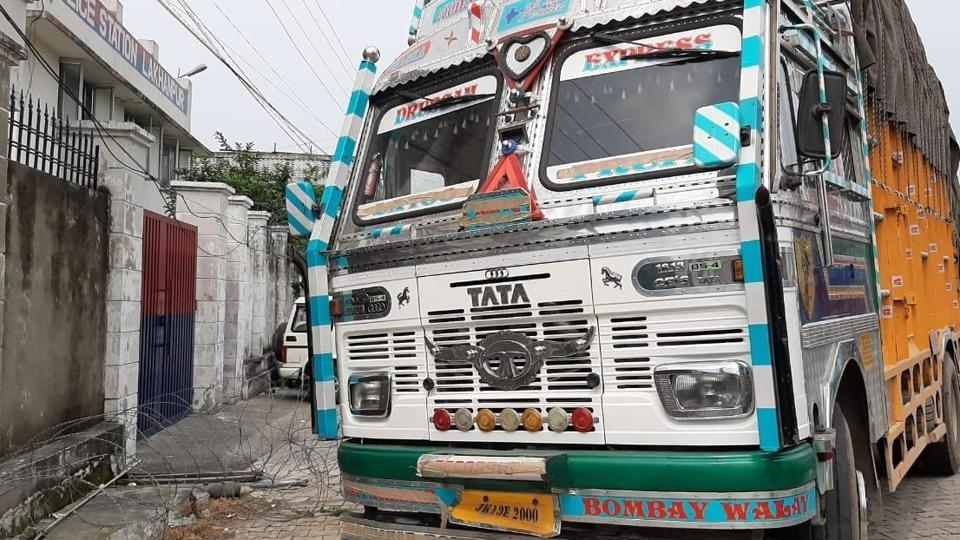 A truck was intercepted at 8.00 am on the Jammu-Pathankot Highway and during checking six AK-47 rifles were seized.