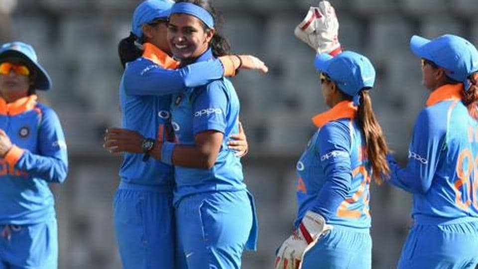A file photo of the Indian women's cricket team.