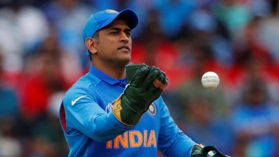 File photo of MS Dhoni at 2019 Cricket World Cup.
