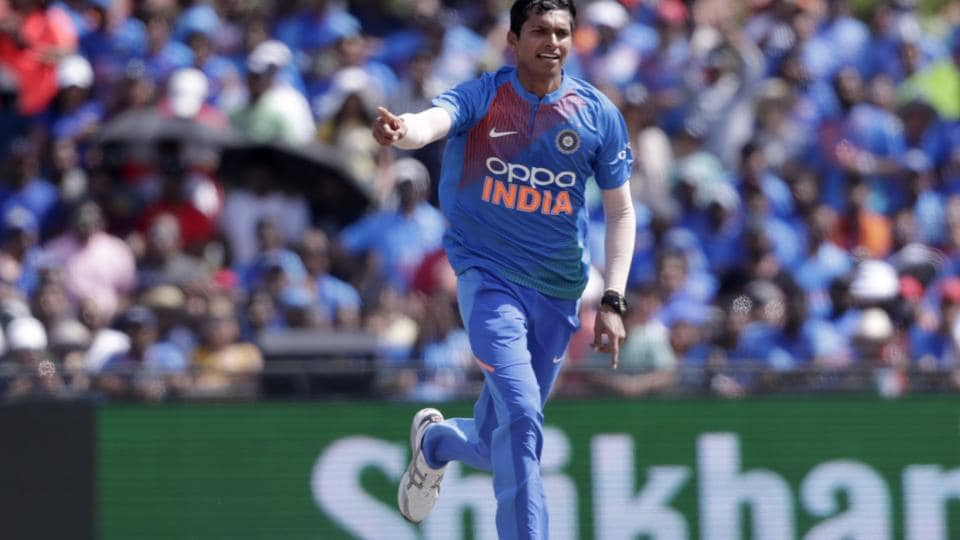 The 26-year-old Saini, who plays domestic cricket for Delhi, made his T20 International debut against the West Indies in Florida