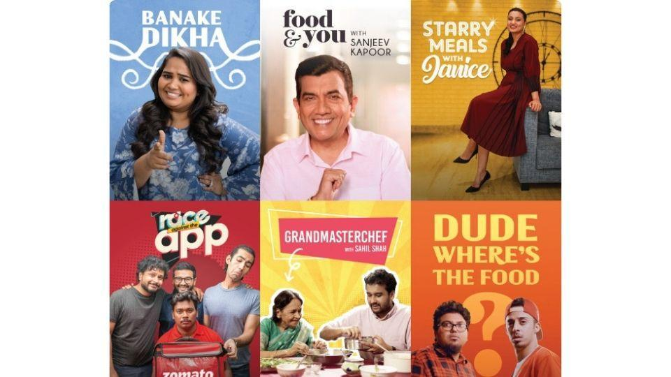 Zomato Original Shows premiering on September 16.