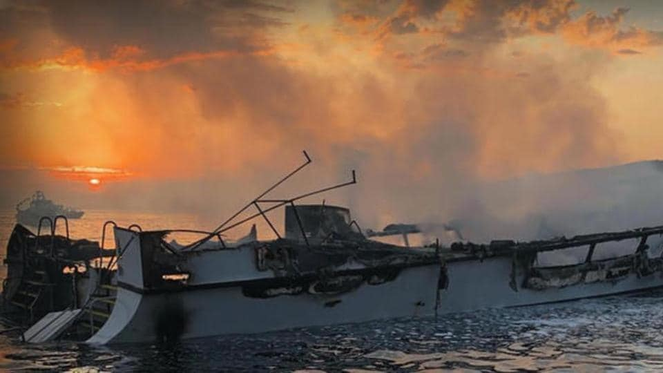 A disclosure from the National Transportation Safety Board that all six crew members were asleep aboard the Conception on September 2 when the deadly blaze broke out.