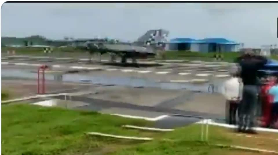 The Light Combat Aircraft (Navy) on Friday conducted a critical test by successfully executing the first-ever arrested landing at a shore-based facility, INS Hansa in Goa.