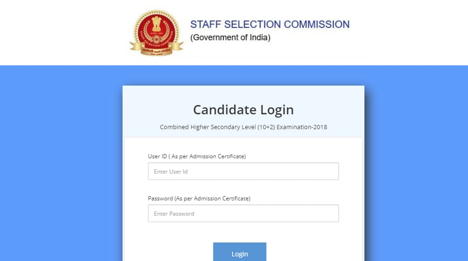 The final answer key will be available for the candidates for a period of a month i.e. upto October 12, 2019. (Screengrab)