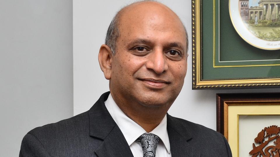 Sanjay Yadav, principal, Ahlcon International School, Mayur Vihar