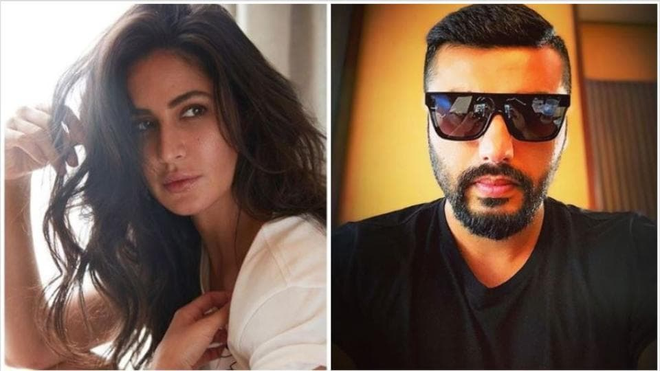 Katrina Kaif and Arjun Kapoor have been mock-fighting on Instagram for a while now.