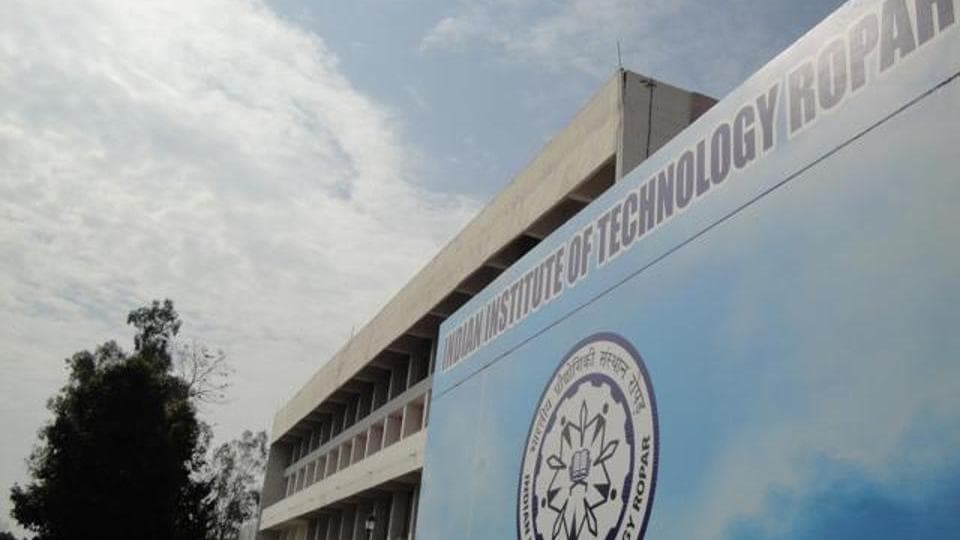 IIT Ropar received a very high score in citation impact and industry income measure.