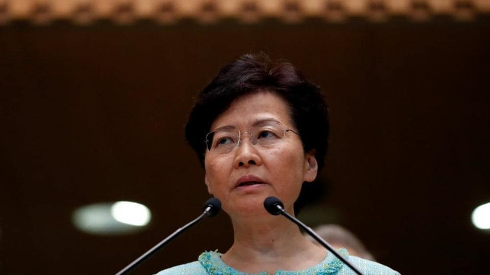 Hong Kong Chief Executive Carrie Lam  vows to prioritise housing and jobs to appease pro-democracy protesters .