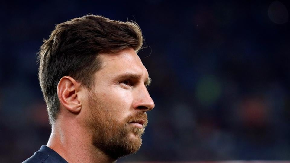 Barcelona's Lionel Messi is likely to be out for two more fixtures.