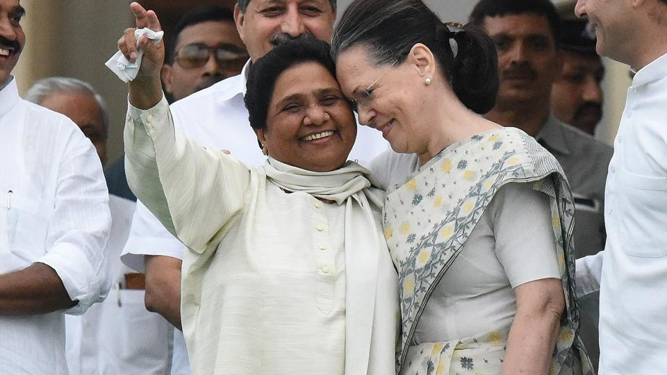 It all started in 1999 when Sonia Gandhi drove to Mayawati's Delhi residence with a bouquet of pink flowers to wish her on her birthday.